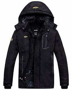 Womens Mountain Waterproof Fleece Ski Jacket Windproof Rain