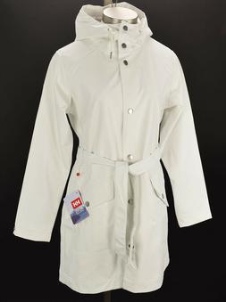 HELLY HANSEN Womens Off White KIRKWALL II Windproof Hooded R