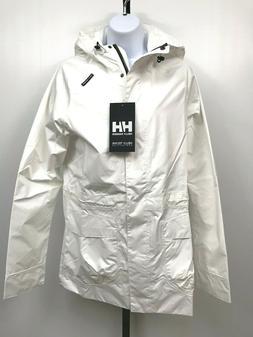 Helly Hansen Womens Rain Jacket Appleton Coat Medium New Hel