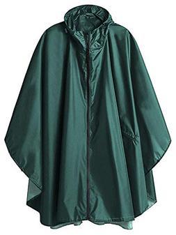ZHENWEI Womens Raincoats Waterproof Rain Poncho Plus Size Ho