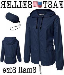 Womens Rainwear Active Outdoor Hooded Cycling Packable Jacke