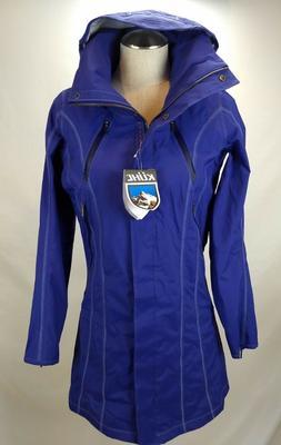 Kuhl Womens Waterproof Trench Rain Coat Jacket Size XS Purpl