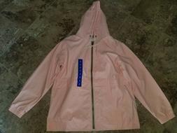 Womens Weatherproof Vintage Rain Coat Jacket Rose Pink L 2XL