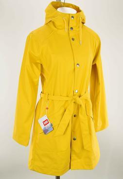 HELLY HANSEN Womens Yellow KIRKWALL II Windproof Hooded Rain