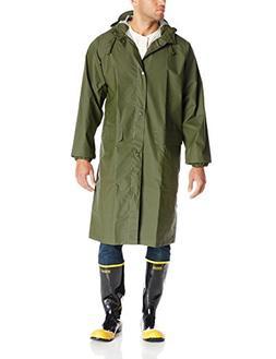 Helly Hansen Workwear Woodland Rainwear Coat, Army Green, 2X