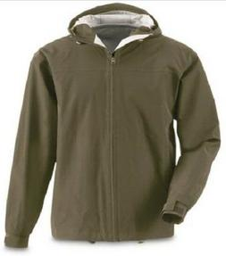 XL Mens 2.5 100% Waterproof Breathable Rain Coat Jacket Wind